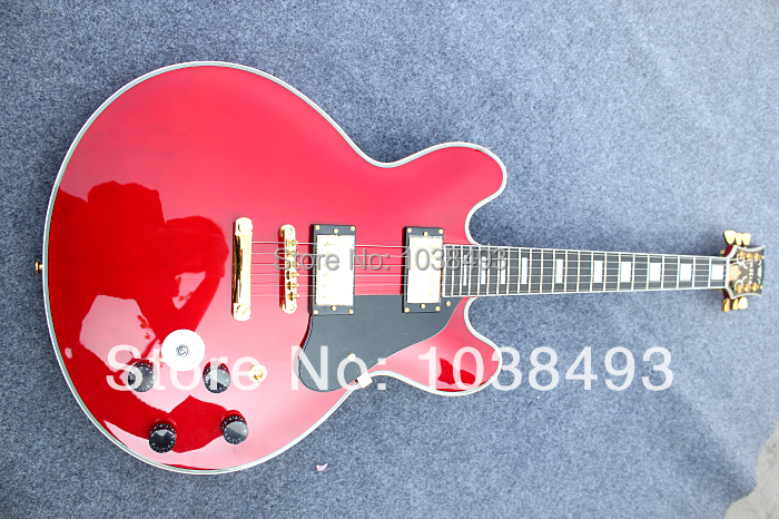 The Custom manufacturer to manufacture the best electric guitar Shop ES335 guitar order EMS free delivery package for postage(China (Mainland))