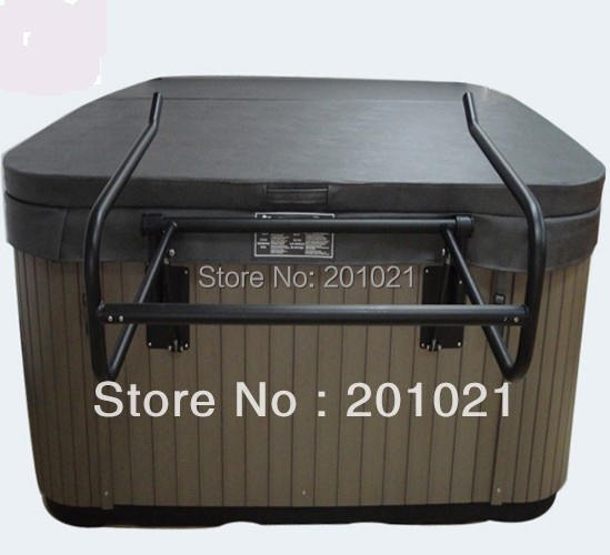 Portable outdoor spa hot tub cover lifter by Aluminum alloy Hydraulic Spa Cover Lifter - Cover Removal System for Hot Tub(Hong Kong)