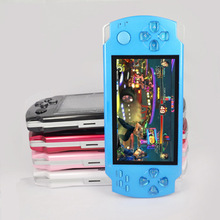 FREE 5000 games .4GB/ 8GB 4.3 Inch PMP Handheld Game Player MP3 MP4 MP5 Player Video FM Camera Portable Game Console(China (Mainland))