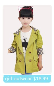 Children's clothing female child 2015 spring candy color cartoon outerwear child sports set 3 - 14