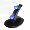 Game Controller Charging Stand Double Game Pad Joystick Charger Dock Station Holder for PlayStation PS4