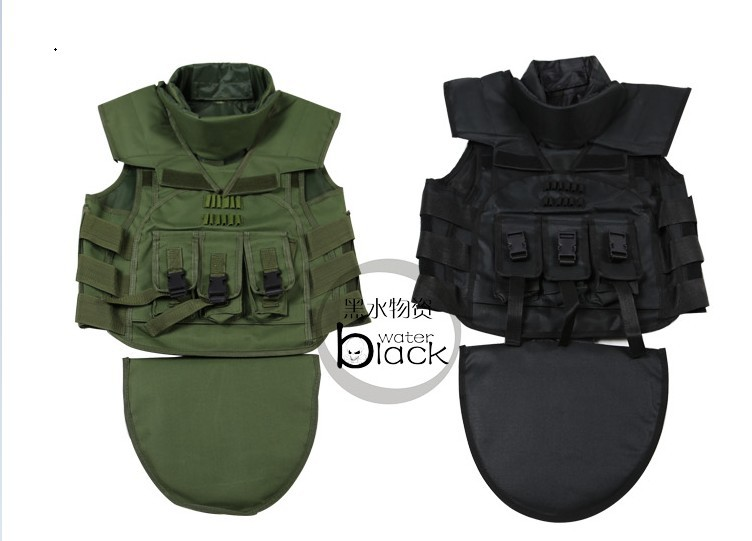 Men Military Combat Tactical Vest Molle 600D Nylon Ajustable Size Special Force Clothing Black Army Green Jungle Camo - Anna's holiday store