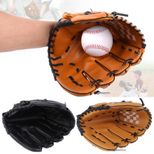"Baseball Glove  	11.5"" PVC Men Softball Baseball Pitcher Glove Sports Player Left Hand free shipping(China (Mainland))"
