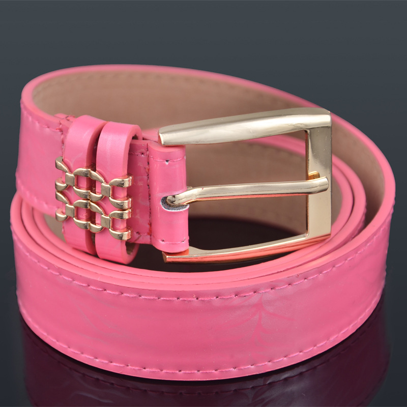 Belt Dermal Ladies Ladies Casual Belt Leather Belt Men Wide Pin Buckle Fashion Tide Belt(China (Mainland))
