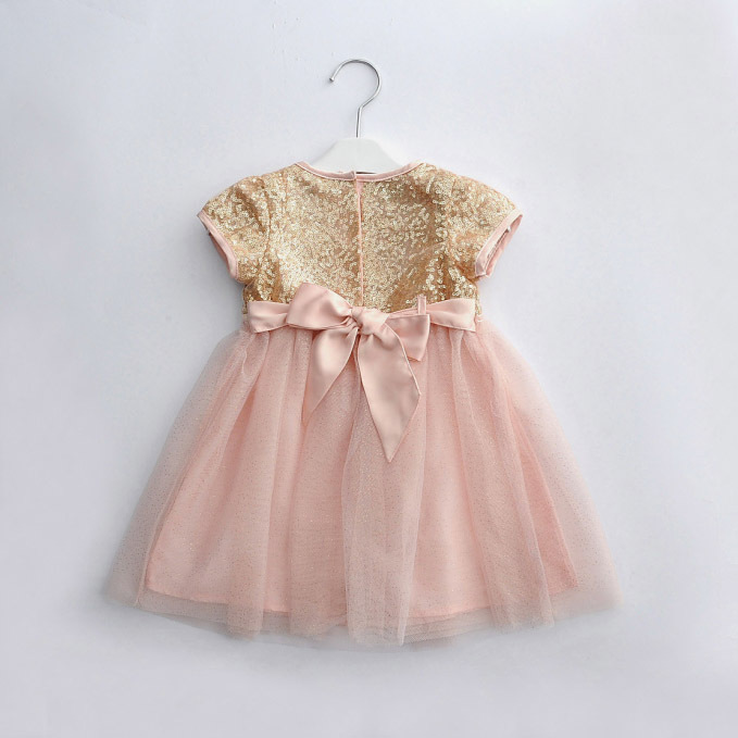Pink Gold Infant Dress Blog Edin