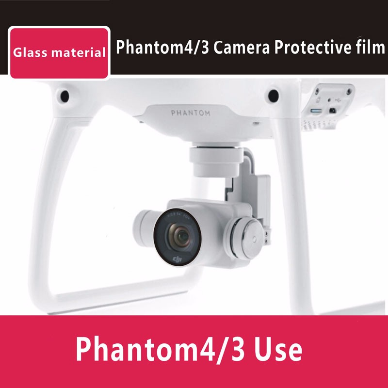 DJI Phantom 4 8pcs/set Deluxe accessories suit for Stickers camera protective film motor protective bottom plate to protect UAV