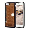 New Design Genuine Leather For iPhone 6 6S 4 7 Pierre Cardin Fashion Ultra Thin Slim