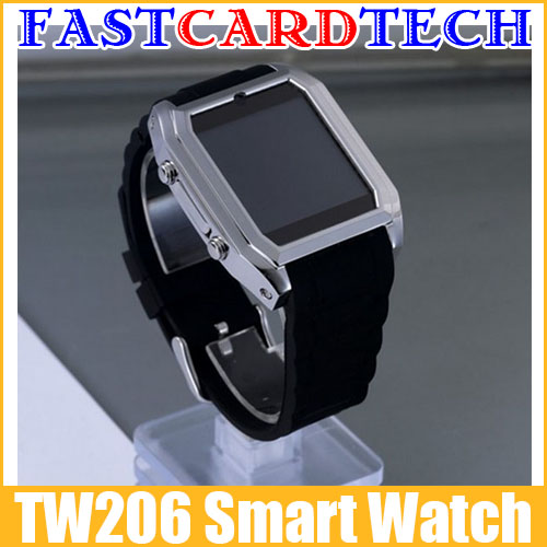 "Smart Cell Phone Watch TW206 1.5"" Screen 1.3MP Camera TF SIM Card Slot GPRS Bluetooth Ultra Thin(China (Mainland))"