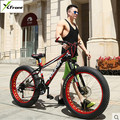 New X Front brand 27 speed 4 0 fat wide tire snow mobile bike cross country