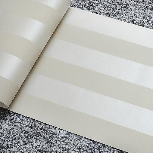 non woven mural metallic glitter white silver wide stripe. Black Bedroom Furniture Sets. Home Design Ideas