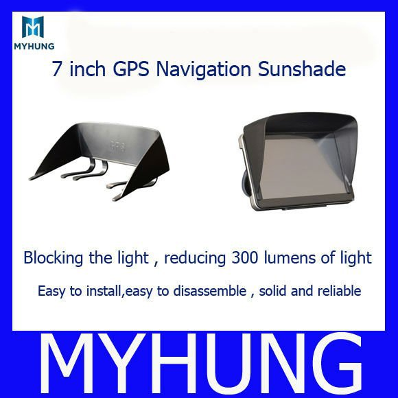 7 inch navigation sunshade gps Sun shade / hood sun hats - Best Auto Parts From Factory store
