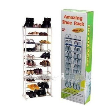 Christmas gift!!big promotion!!!free shipping!!!Amazing shoe rack 10 layer 20 pairs Free shippig