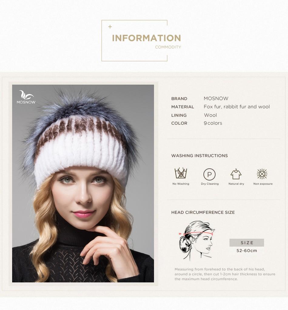 fur hat female winter PCM006 (3)