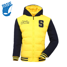 Down Coat Mens Fashion Autumn Winter New Brand Clothes Hot Sale High Quality Outdoor Sports Wholesale Collor Plus Size 244811
