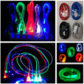 1m Crystal LED Light up Glow Durable Micro USB Data Sync Charger Cable Cord For Samsung