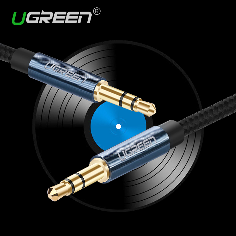 3 5 Mm Stereo Cable : Ugreen new aux cable mm to jack audio