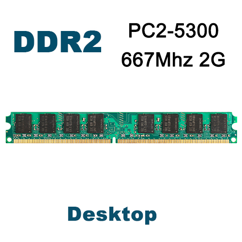 KVR667D2N5/2G PC2-5300 DDR2 667Mhz 2GB Brand New DIMM Memory Ram memoria ram For Intel or AMD motherboard For desktop computer(China (Mainland))
