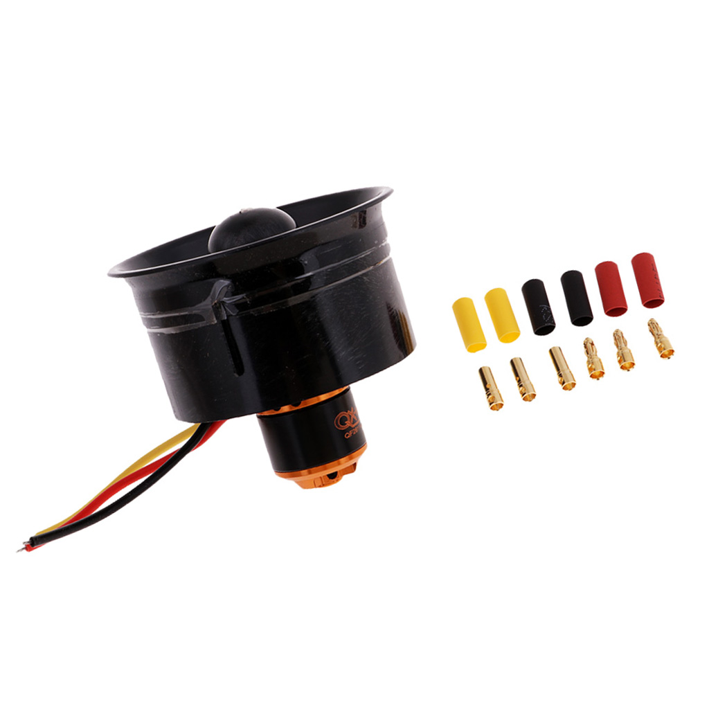 64mm Duct Fan, QF2611-4500KV   Brushless Motor ,5-Blade, for RC EDF Jet Airplane