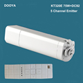 Original Dooya Home Automation Electric Curtain Motor KT320E 75W DC92 5 Channel Emitter WIFI Control 220V