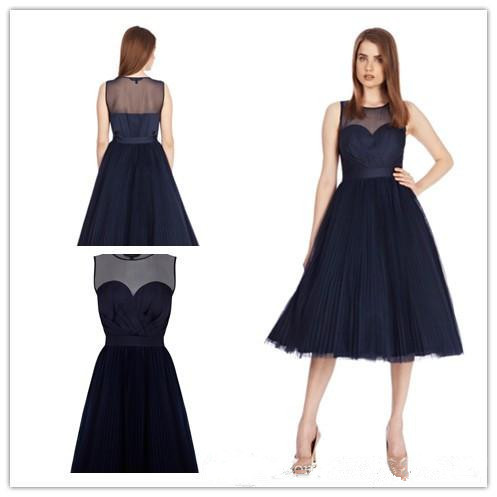 Buy bridesmaid dresses sleeveless sheath for Little black wedding dress
