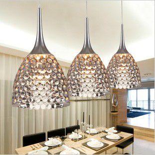 Modern Pendant Lamp Aluminum Dining room Drop Light Fashion Brief Lighting Fixture luminaria lustre abajur E27 110V/240V(China (Mainland))
