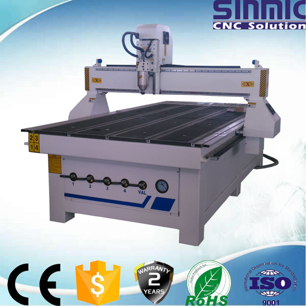 Cheap low prices Servo motor water/air cooling spindle furniture cnc router for wood/plywood(China (Mainland))