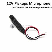 12V Pickups Microphone Real-time image transmission sound transmission for DIY FPV drone quadcopter/multirotor