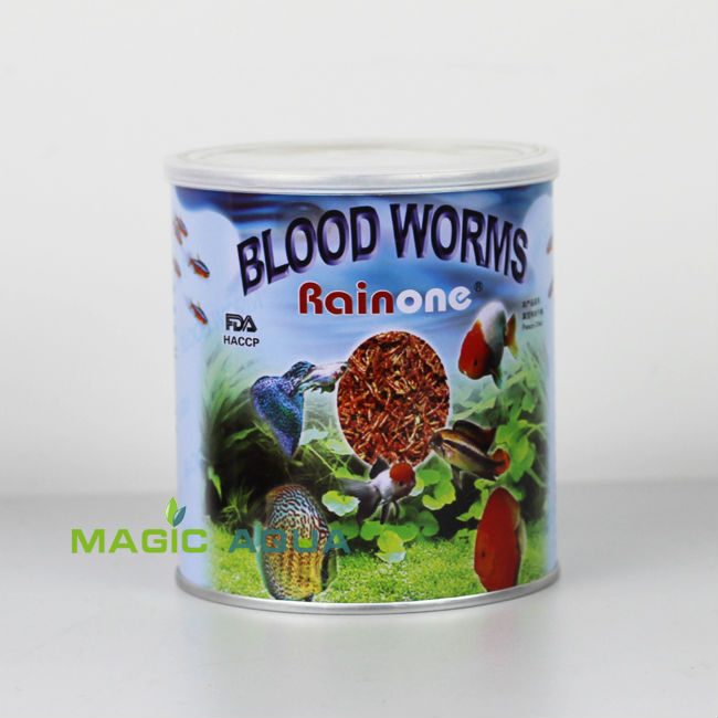 Free Shipping Freeze Dried Red Insect Blood Worm 45g Wonderful Tropical Fish Food 1 pcs(China (Mainland))