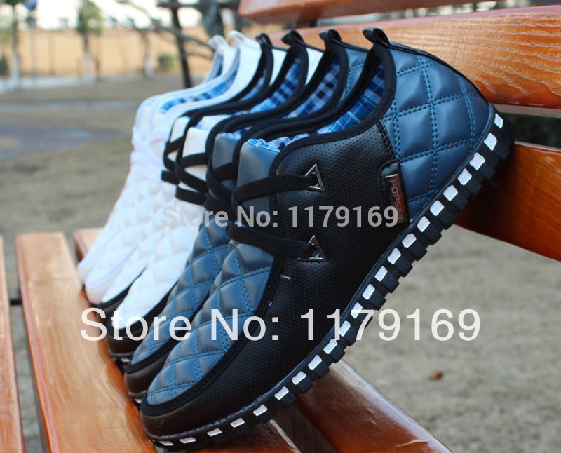 2014 Autumn And Winter New Style Men's Leather Boots British High