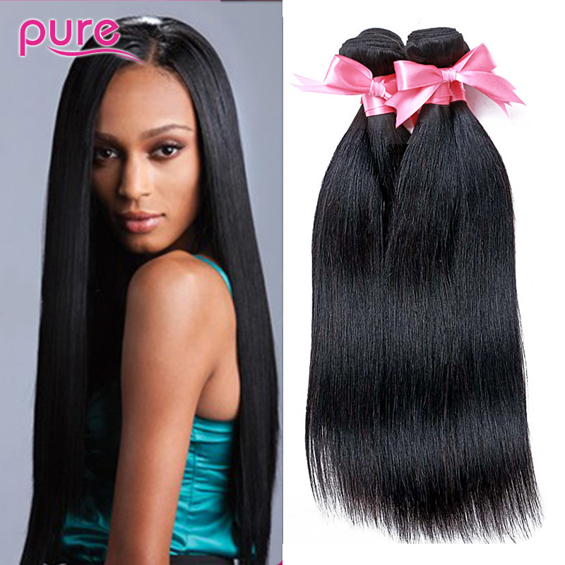 7A Brazilian Virgin Hair Straight 3 Pcs, Unprocessed Virgin Brazilian Straight Hair Weave For Sale, Cheap Human Hair 100g Bundle<br><br>Aliexpress