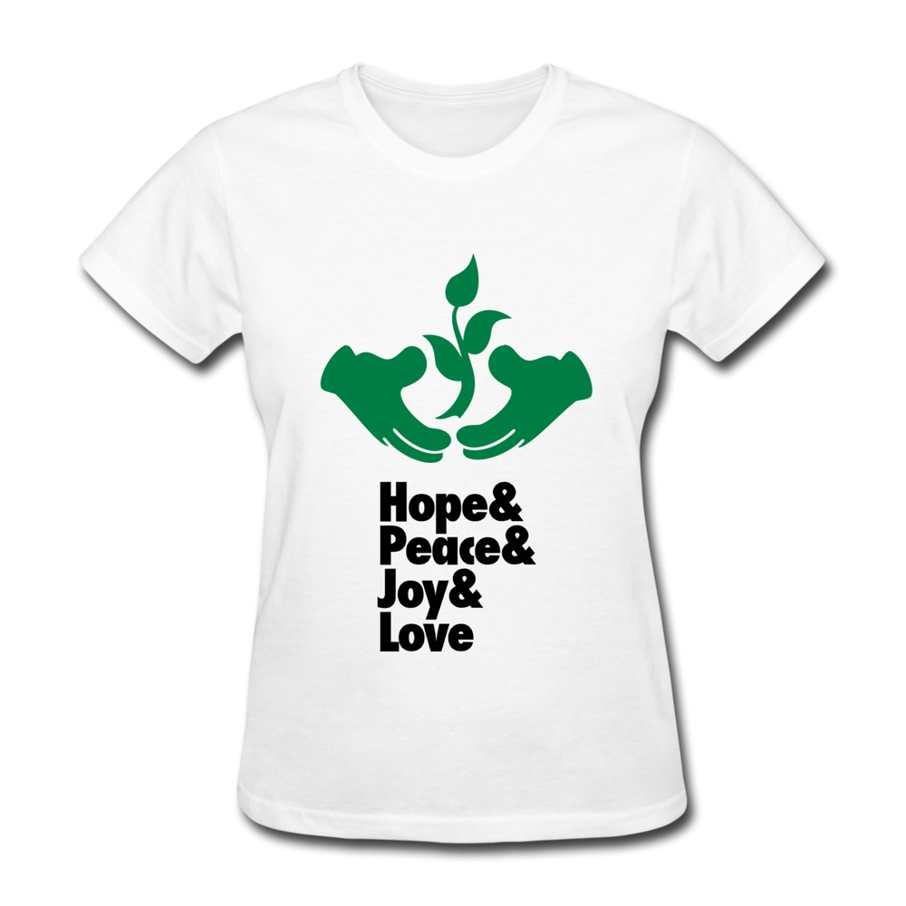 Make Own Casual Women T Shirt Protect Your Environment
