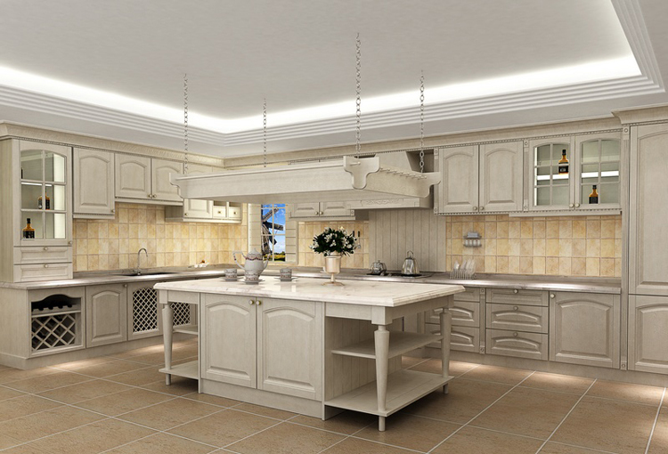 2016 new design hot sales customized american solid wood for Kitchen unit designs pictures
