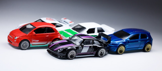 HotWheels 1set/5pcs Automobile Tradition Euro Type die-cast mannequin vehicles