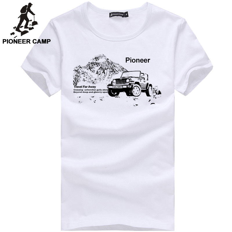 Pioneer Camp 2016 New Fashion Mens T Shirt Short Sleeve