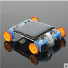 solar car,solar toys 9*9*5cm, educational toys,need no power ,diy toy kit ,semi-finished assembly solar kit(China (Mainland))