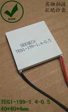 Seebeck Temperature difference power generate generation chip plate TEG1-199-1.4-0.5 Semiconductor thermoelectric 40*40*4.2mm(China (Mainland))