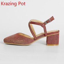 Buy 2017 Fashion Superstar High Heels Brand Summer Shoes Women Sandals Slingback Square Toe Party Causal Ankle Strap Sexy Shoes 66 for $50.49 in AliExpress store