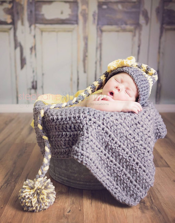 Newborn Baby Photography Prop Crochet Knitted Unisex Boy ...