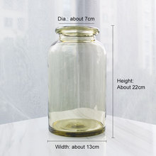 Online Get Cheap Flowers Glass Vase Aliexpresscom Alibaba Group - Clear floor vase with flowers