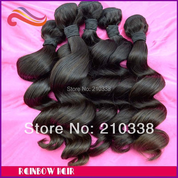 """wholesale loose wave 10pcs/lot 12"""" ~30"""" hair weft 95g~100g/pc free shipping"""