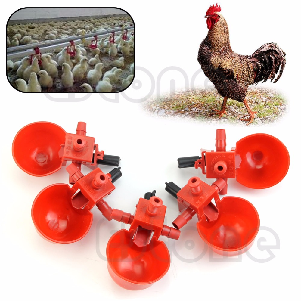 Automatic Bird Coop Feed Poultry Water Drinking Cups Chicken Fowl Drinker - Goldseller Market All For You store