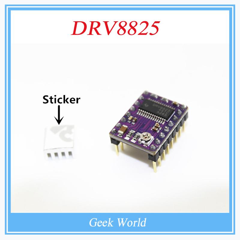 Гаджет  3d printer parts 5pcs/lot 3D Printer Stepstick Drv8825 Stepper Motor Driver Reprap 4 PCB Board + Free shipping replace A4988 None Электронные компоненты и материалы