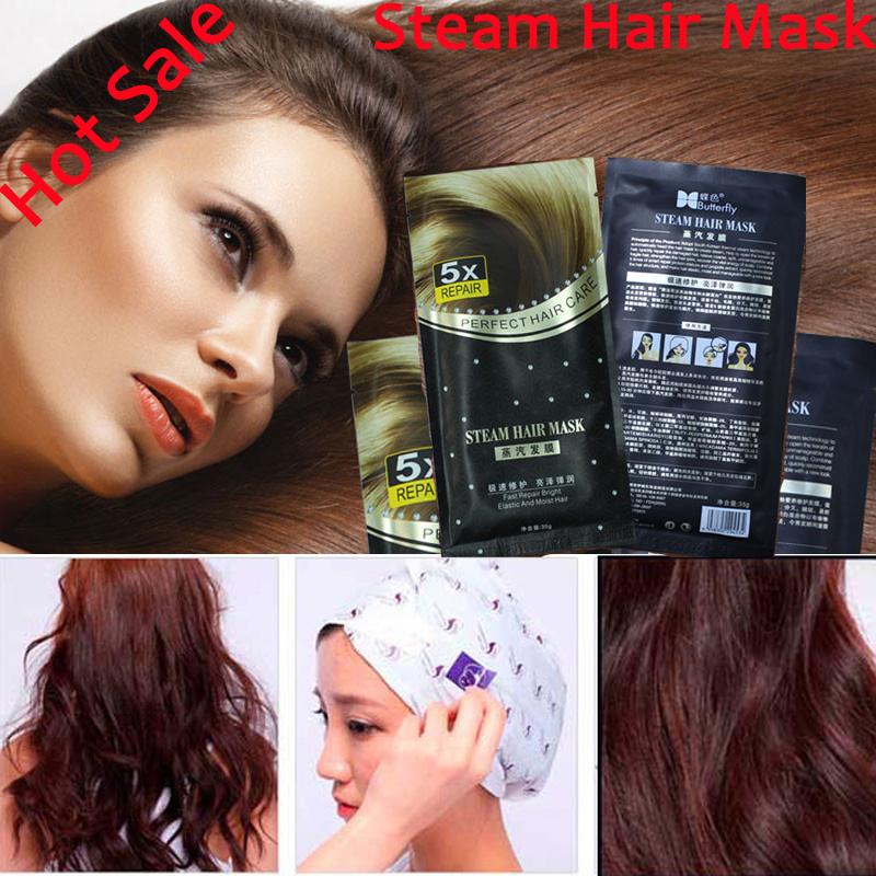 Automatic Heating Steam Hair Mask Keratin Argan Oil Treatment Hair Coarse, Dry, Split Ends Free Shipping<br><br>Aliexpress