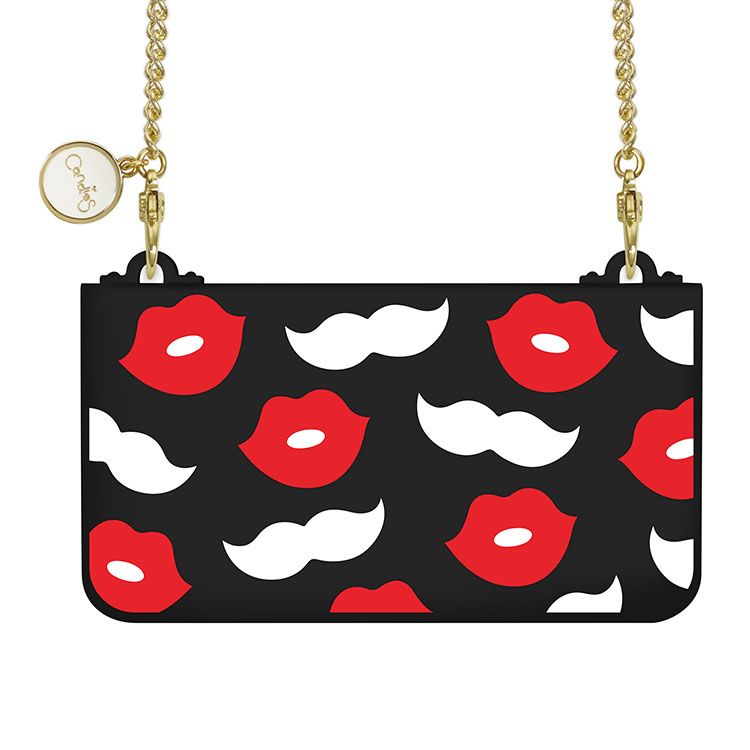 Luxury Fashion Brand Lip Kiss Soft Silicon Handbag Phone Case Cover With Metal Chain For Apple iPhone 6 6S Plus Gifts(China (Mainland))