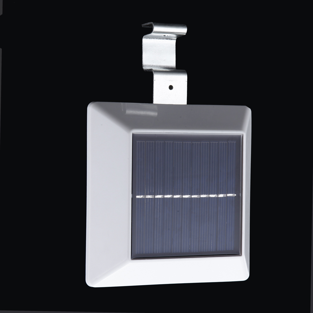 4 Led Solar Powered Outdoor Light Lamp With Pir Motion