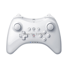 White Extension Wireless Pro Controller for Nintendo Wii U Gamepad Console
