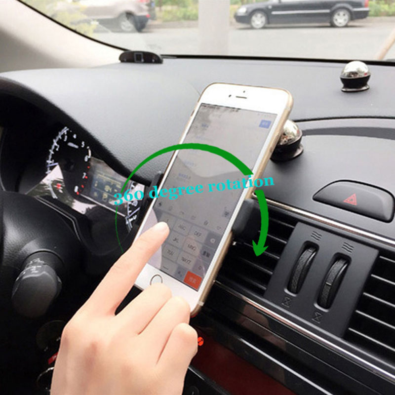 Universal Car Phone Holder For iPhone 6 6S Plus 5 Samsung Galaxy Huawei P8 Lite Xiaomi Redmi Note 3 Meizu i Phone Accessories(China (Mainland))