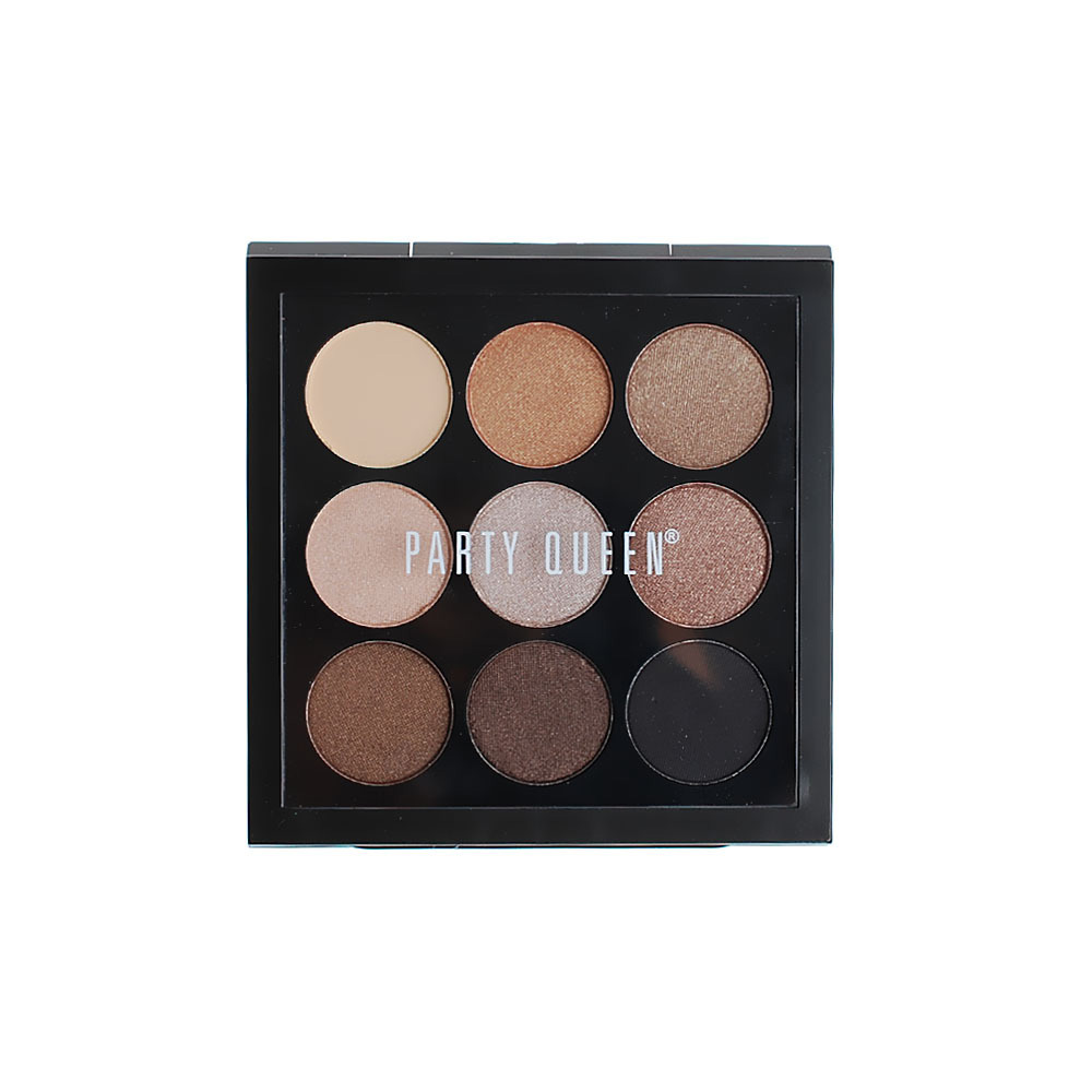 2016 New Women 9 Colors Bright Colorful Makeup Eye Shadow Super Makeup Set Flash Eyeshadow Palette(China (Mainland))