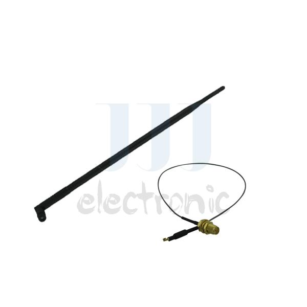 Brand New 9dBi Dual band 2.4~5.8GHz RP-SMA WiFi Antenna + 12inch U.fl cable for Mod Netgear WNDR3400 WNDR4000(China (Mainland))