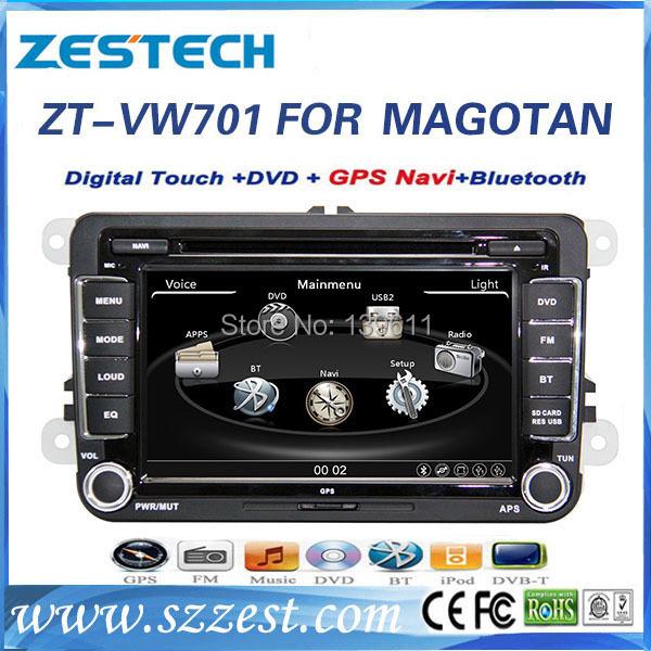 ZESTECH 7inch Digital Touch screen car DVD Special For VW Volkswagen Magotan passat B6 car dvd(China (Mainland))